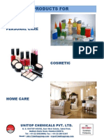 Cosmetic Personal Home Care