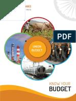 Union Budget 2018 Brochure