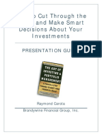 Making Smart Decisions About Investments