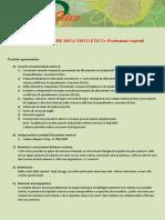Manuale Produzioni Vegetali Orto Etico