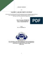 Car Security Report