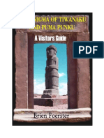 The Enigma of Tiwanaku and Puma Punku by Brien Foerster
