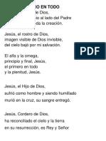 Jesús, El Verbo de Dios