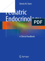Pediatric endrocinology