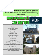 Parish News March 2018 - The Parish of Newcastle & Newtownmountkennedy with Calary, Co. Wicklow, Ireland