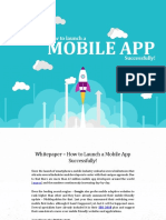 Whitepaper - How to Launch a Mobile App Successfully!