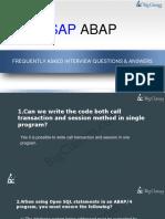 Top SAP ABAP-Faqs - www.bigclasses.com