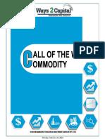 Commodity Report 26 Feb 2018