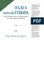 Introducao a Gestalt Terapia - Hugo Elidio Rodrigues