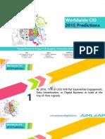 Worldwide CIO - 2018 Predictions