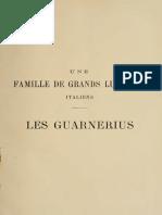 2. Une Familie de Grands Luthiers Italiens - Les Guarneriu