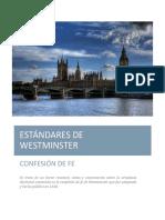 Primer capítulo de la confesión de Fe de Westminster