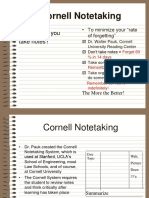 Cornell Notes Powerpoint1