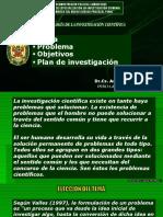 Tema Problema Objetivos Plan Investigacion