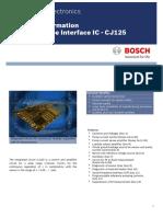 CJ125 Product Info