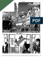 Shingeki No Kyojin Cap 33 PARTE 1