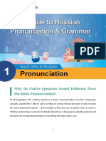 Your Guide to Russian Pronunciation & Grammar