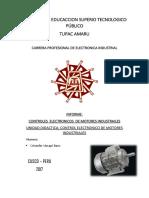 Informe - Control Electronico de Motores