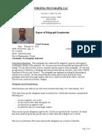 David Sorensen Polygraph Results