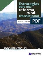 Estrategias Para Una Reforma Rural Transicional