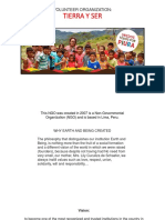 Oraganizacion de Voluntariado -