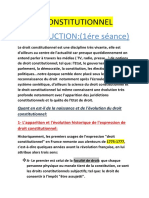 Cours Droit Constitutionnel Tapé