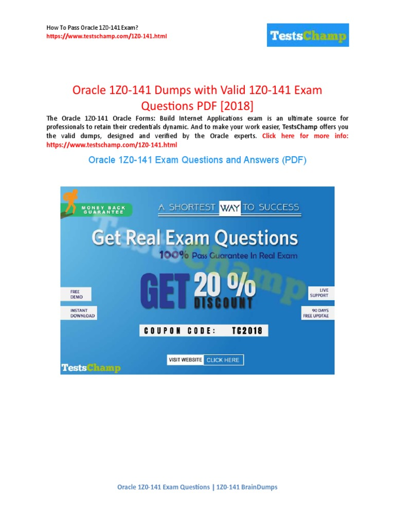 Oracle 1z0-141 Practice Test Questions & 1z0-141 Training Materials ...