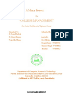 Project Report Hotel Management New