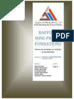 Rapport Mini-projet
