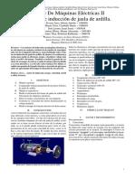 Informe #4 - Motor Asíncrono