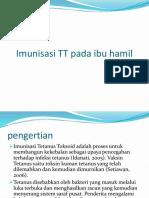 Imunisasi TT Pada Ibu Hamil Ppt