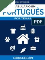 Vocabulário Em Português Por Temas V1.2016