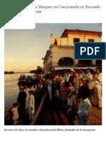 Hannes Wallrafen -El mundo de García Márquez en Una jornada en Macondo
