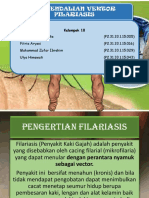 Pengendalian Vektor Filariasis