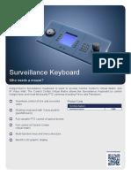 Surveillance-Keyboard Datasheet A4