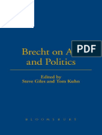 (Brecht's Plays, Poetry and Prose) Brecht, Bertolt_ Bradley, Laura J. R._ Brecht, Bertolt_ Giles, Steve_ Kuhn, Tom-Brecht on Art and Politics-Bloomsbury Academic_Methuen (2003)