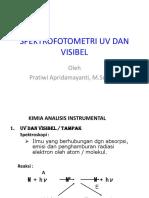 Spektrofotometri Uv-Visibel Dan Florometri