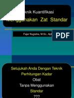 6. Teknik Standar Dan Kuantifikasi