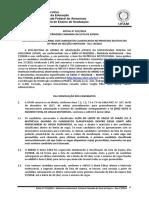 Edital 011_2018_Sisu_ Primeira Chamada_Lista de Espera
