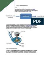 Tipos de Turbinas Hidraulicas