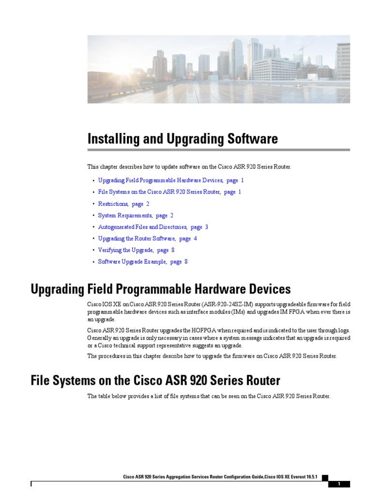 Cisco Ios Upgrade