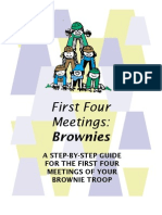 Brownie First Four Meetings