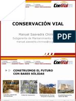 Conservación Vial