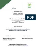 Rapport Pfe OCP SAFI