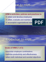 Fundaentals of Hrm