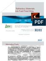 18. RHI - Innovative Refractory Materials for Alternative Fuel Fired Kilns