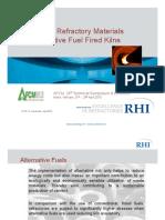 18. RHI - Innovative Refractory Materials for Alternative Fuel Fired Kilns