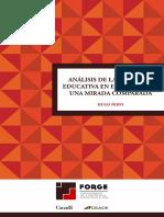 Análisis de la inversión educativa en el Perú desde una mirada comparada