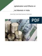 Bank Recapitalization & Bond Markets in India