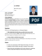 Awais Mechanical Engineer Cv